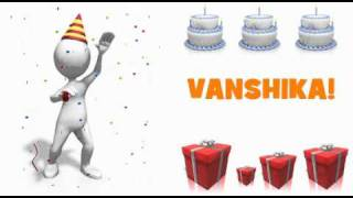 Bar Bar Ye Din Aye Happy Birth Day To You Vanshika