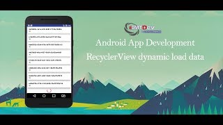 Optimize RecyclerView For Large List