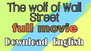 Wolf Of Wall Street Hindi Audio Track